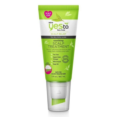 Yes To Tea Tree Soothing Scalp Treatment - 3 fl oz