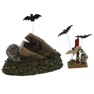 Dept 56 Accessories Creepy Creatures Bats Halloween Village  -  Decorative Figurines