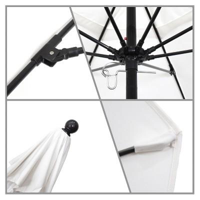 9u0027 Complete Fiberglass Pulley Open Patio Umbrella   California Umbrella :  Target