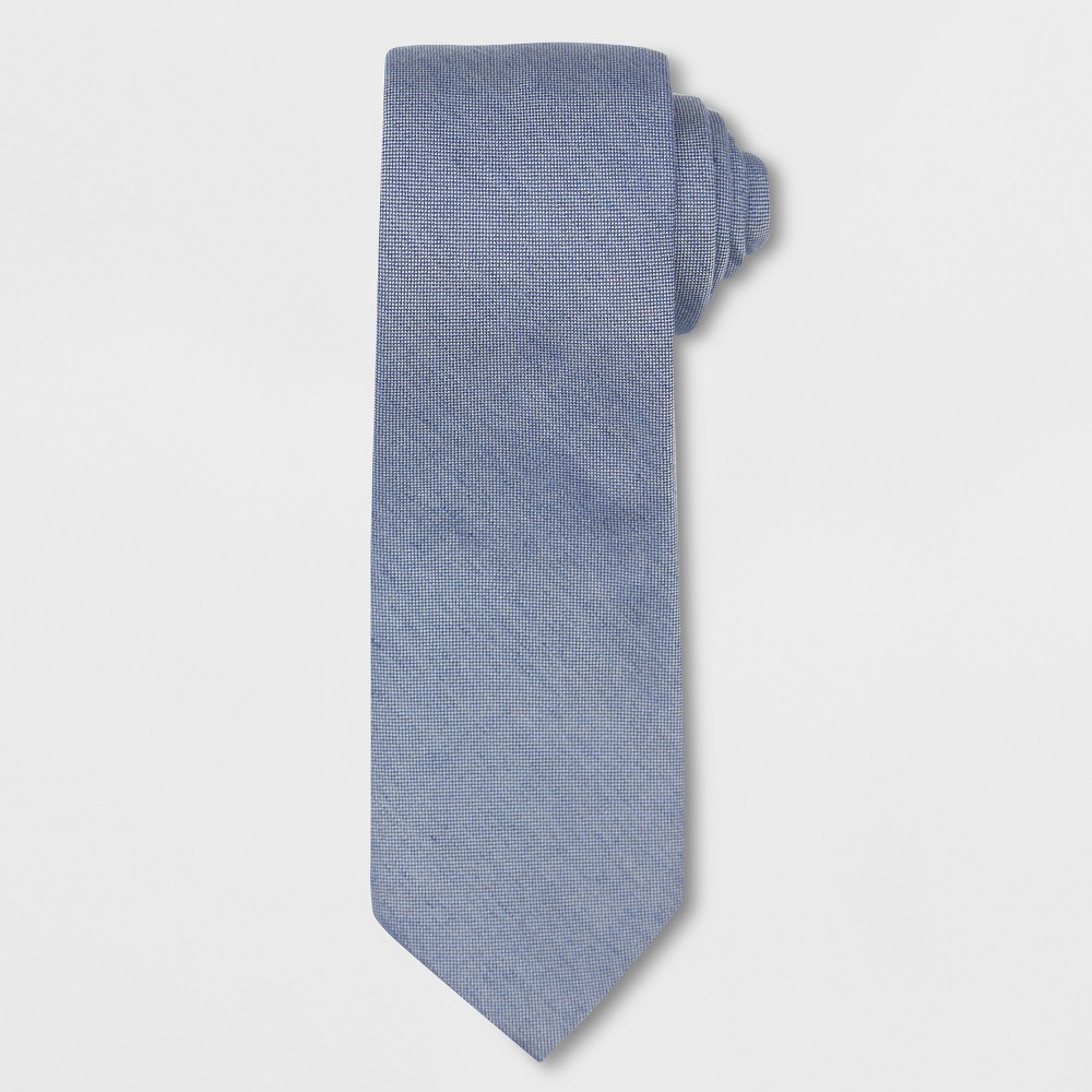 Image of Men's Chambray Necktie - Goodfellow & Co Navy One Size, Blue