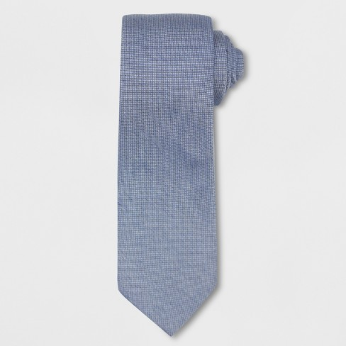 Men's Chambray Necktie - Goodfellow & Co™ Navy One Size - image 1 of 1