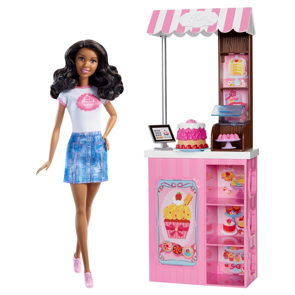 Barbie Careers Bakery Owner Doll and Playset