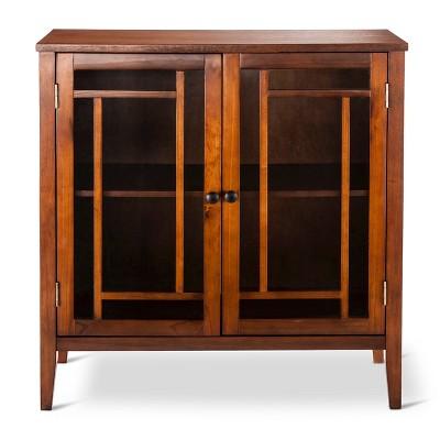 Luther Storage Cabinet Brown   Threshold™