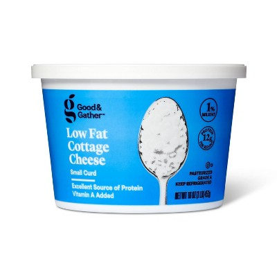 1% Milkfat Small Curd Cottage Cheese - 16oz - Good & Gather™