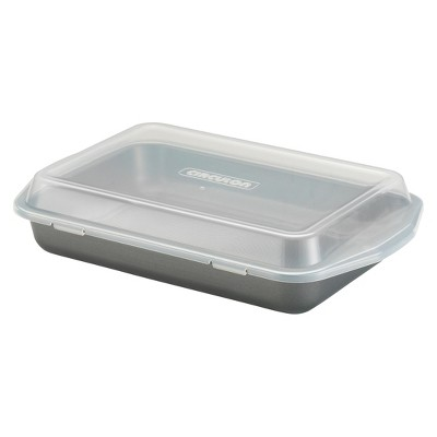 Circulon Covered Cake Pan - Gray