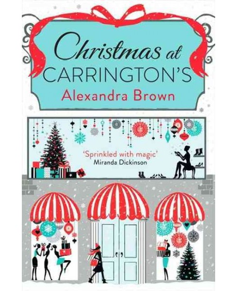 Christmas at Carrington's (Paperback) (Alexandra Brown) - image 1 of 1