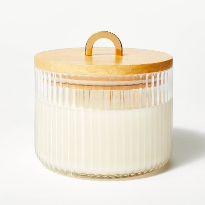 13oz Lidded Glass Jar 3-Wick Holiday Candle - Cypress & Juniper - Threshold™ designed with Studio McGee
