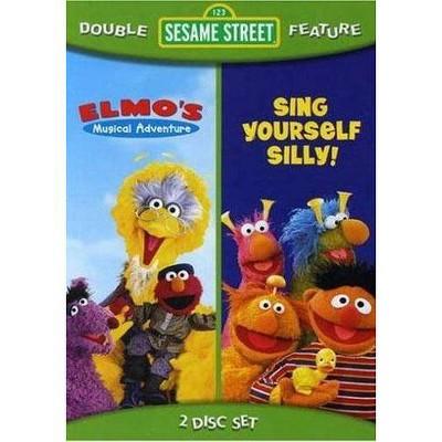 Sesame Street Sing Yourself Silly / Elmo's Musical Adventure (DVD)(2008)