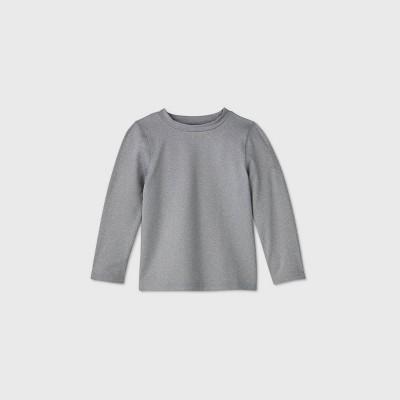 Toddler Boys' Long Sleeve Rash Guard Swim Shirt - Cat & Jack™ Gray