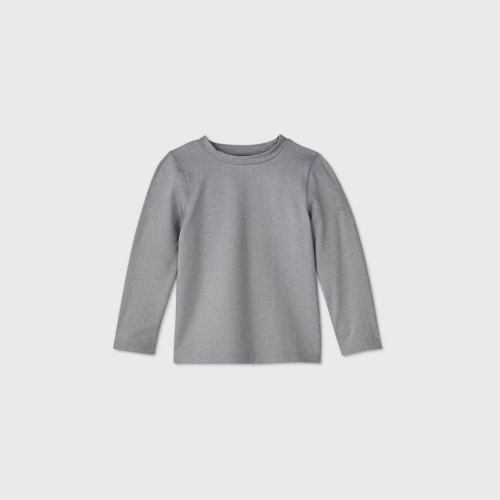 Toddler Boys 39 Long Sleeve Rash Guard Swim Shirt Cat 38 Jack 8482 Gray 18m