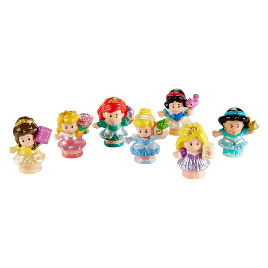 Fisher-Price Little People Disney Princess Figures 7pk image number null