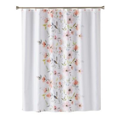 Resting Garden Shower Curtain Pink - Saturday Knight Ltd.