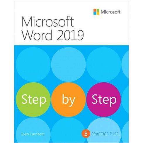 Microsoft Word 2019 Step by Step - by  Joan Lambert (Paperback) - image 1 of 1
