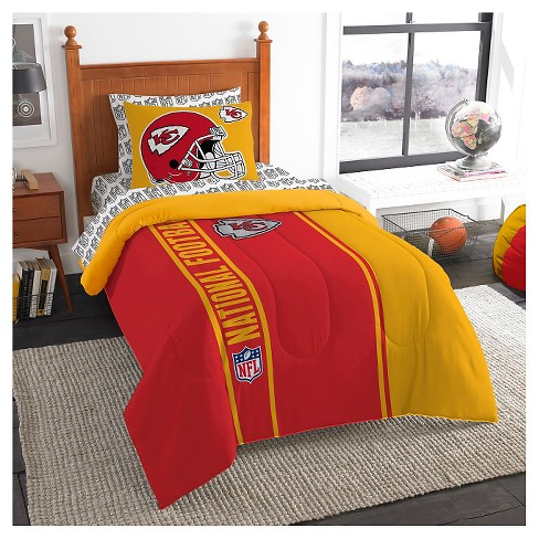 3960206d NFL Kansas City Chiefs Twin Bed in a Bag