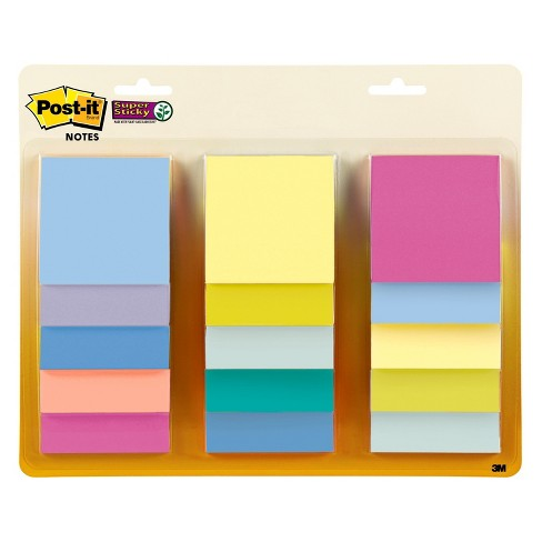 """Post-it 12ct Notes 3"""" x 3"""" Pastel - image 1 of 2"""