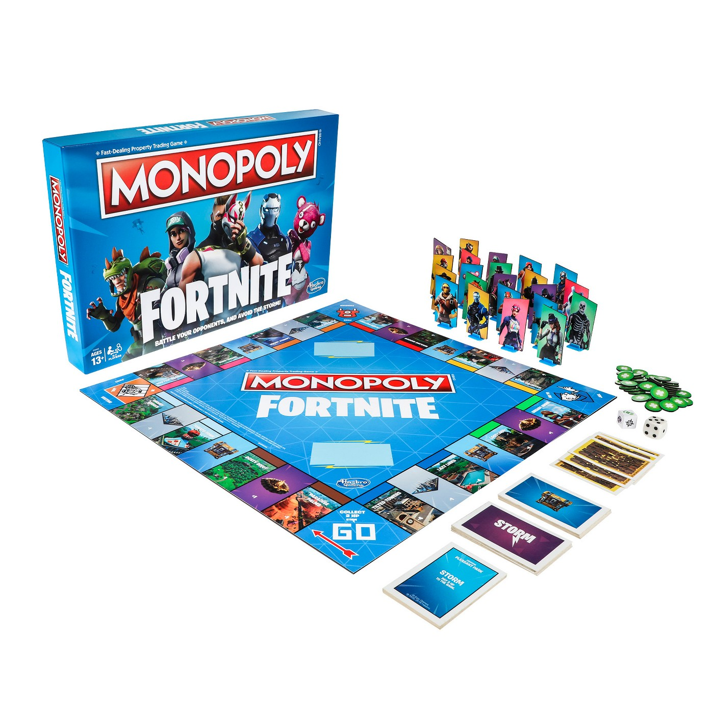 Monopoly Fortnite Board Game - image 1 of 6