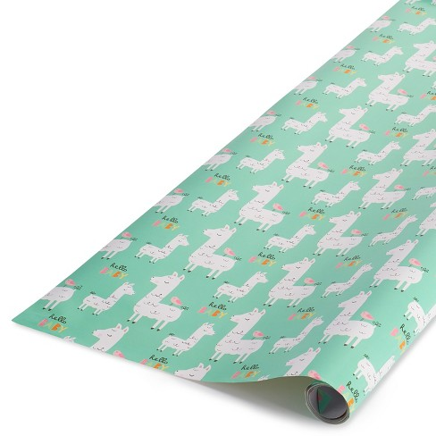 Llama Hello Baby Gift Roll Wrap Spritz Target