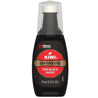 KIWI Leather Shoe Dye Black 2.5 fl oz