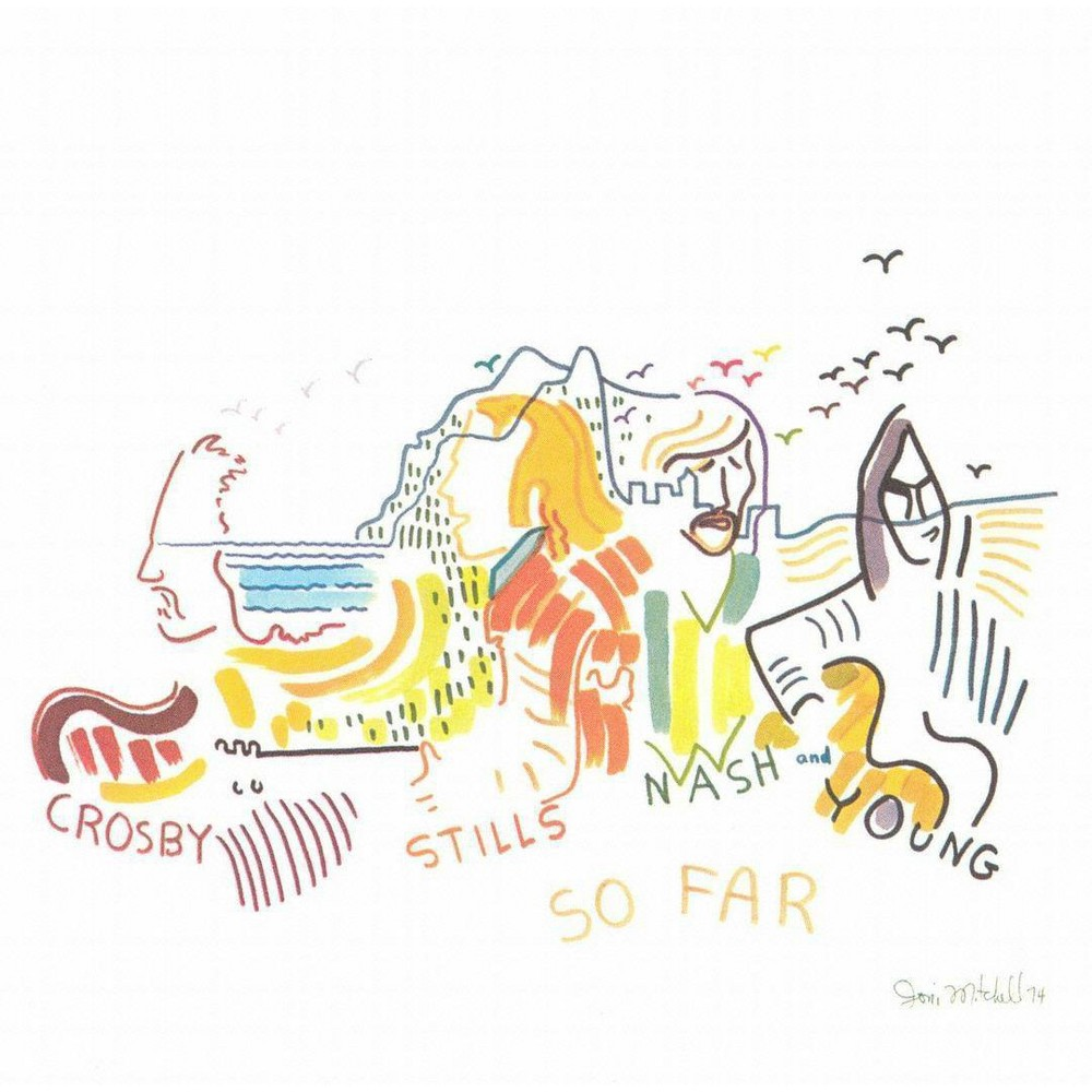 Nash Stills Crosby - So Far (CD)