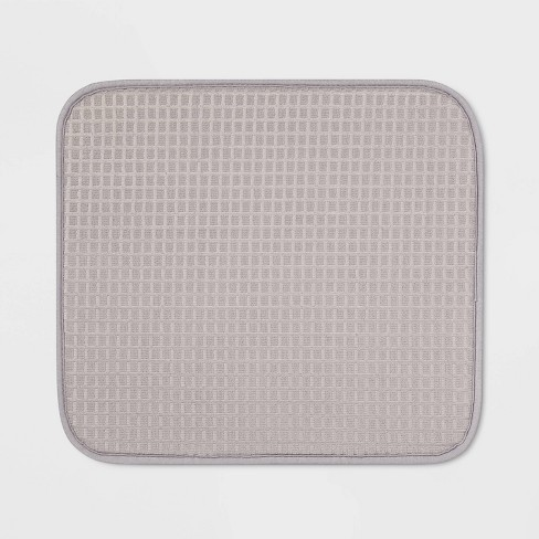 """16"""" x 18"""" Drying Mat Gray - Made By Design™ - image 1 of 3"""