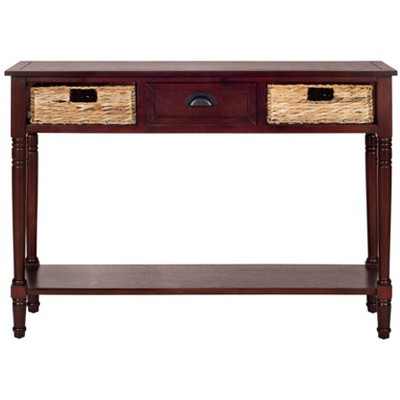 Christa Console Table with Storage - Safavieh