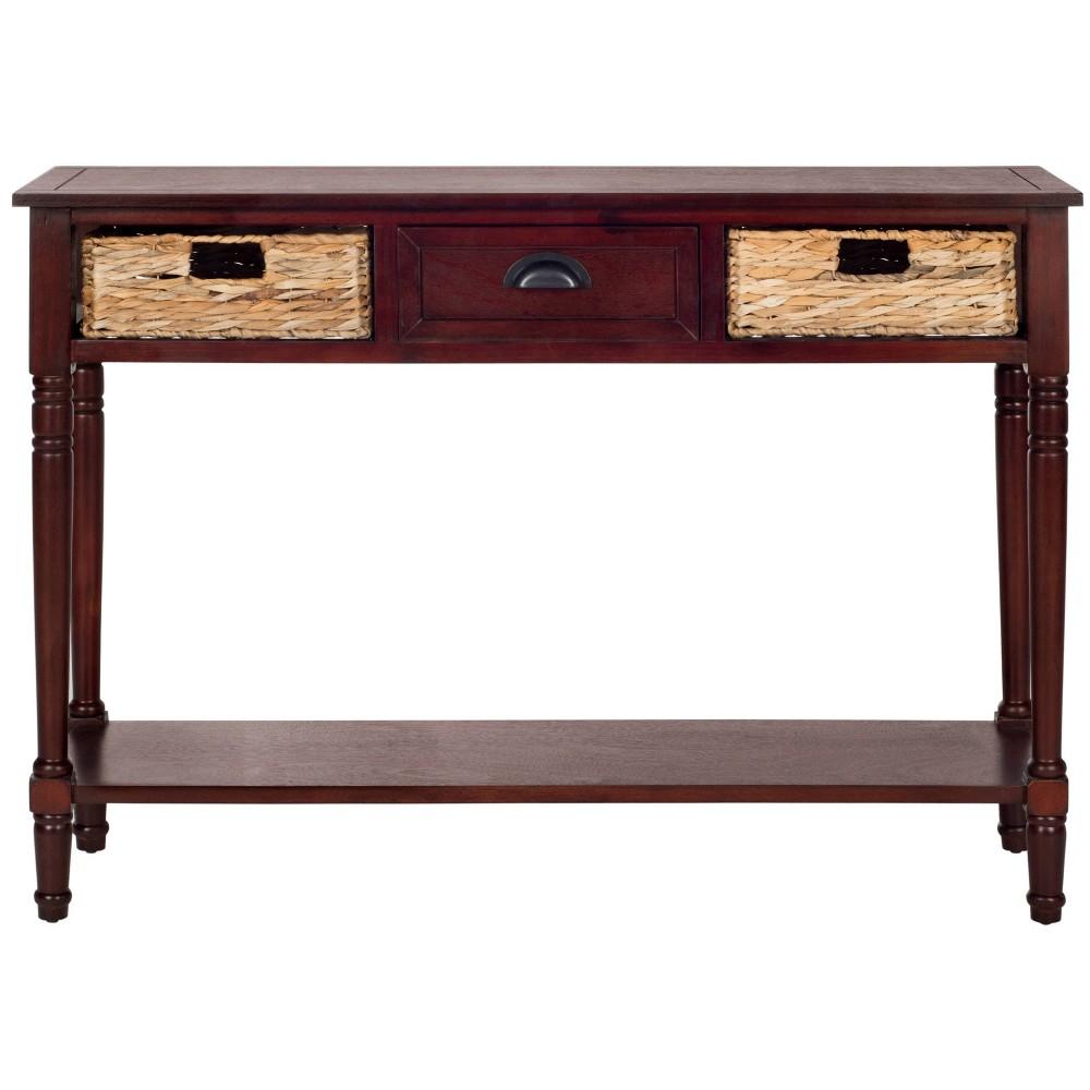 Christa Console Table Vintage Cherry Safavieh