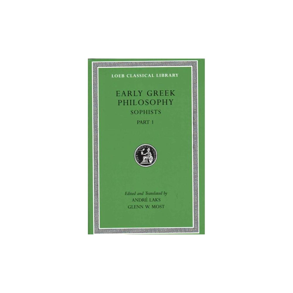 Early Greek Philosophy : Sophists (Vol 8) (Bilingual) (Hardcover)