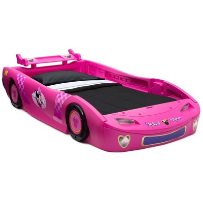 Twin Disney Minnie Mouse Car Bed - Delta Children