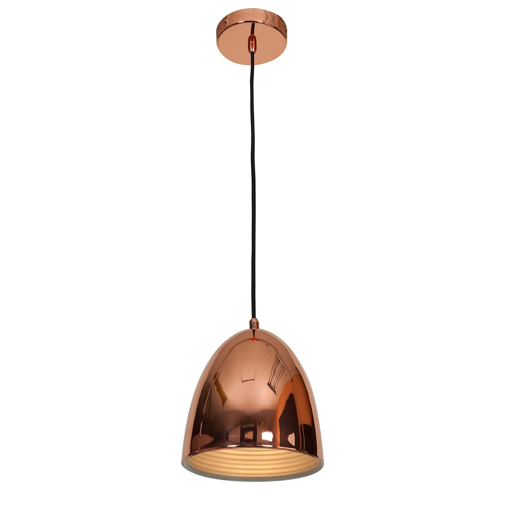 Image of Access Lighting 8 Essence 1 Light Dome Pendant Ceiling Lights Copper (Brown)
