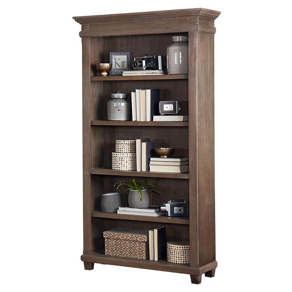 76 34 Carson Open Bookcase Brown Martin Furniture