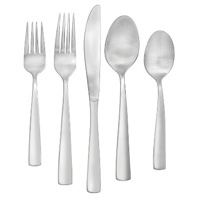 Faberware Cayenne Satin 20-Piece Silverware Set, Service for 4