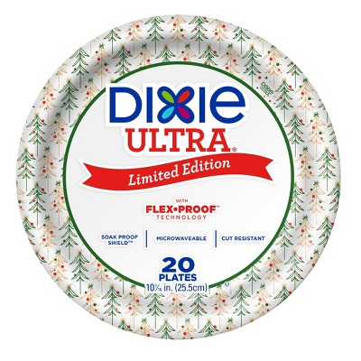 Dixie Ultra Holiday Paper Plates 10