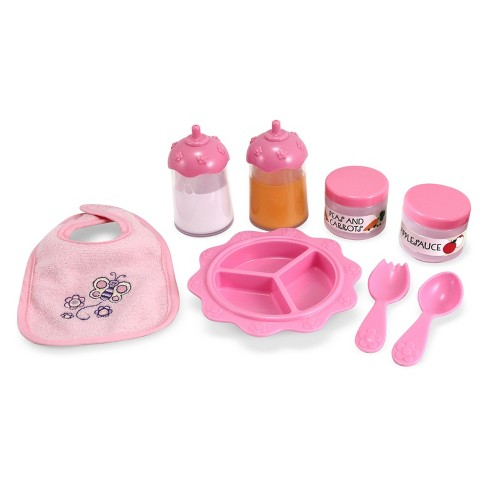 Melissa & Doug® Mine to Love Time to Eat Doll Accessories Feeding Set (8pc) - image 1 of 3