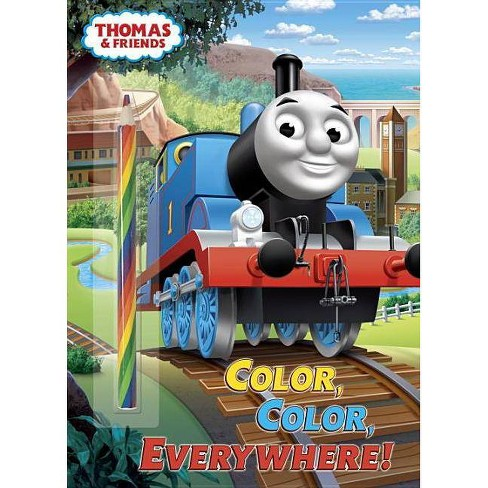 Color, Color, Everywhere! (Thomas & Friends) - (Paperback) - image 1 of 1