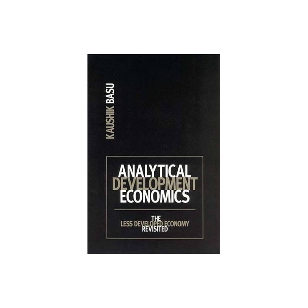 Analytical Development Economics Mit Press By Kaushik Basu Paperback