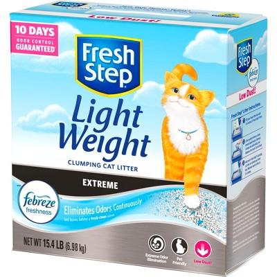 Cat Litter: Fresh Step Light Weight