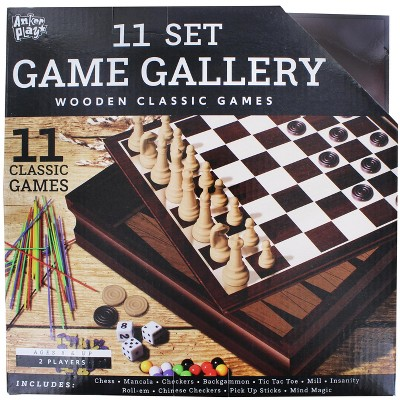Anker Play Family Game Gallery | 11 Wooden Classic 2-Player Games