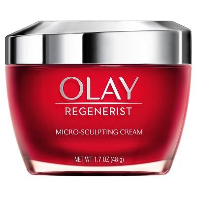 Olay Regenerist Micro-Sculpting Cream Face Moisturizer with Niacinamide - 1.7oz