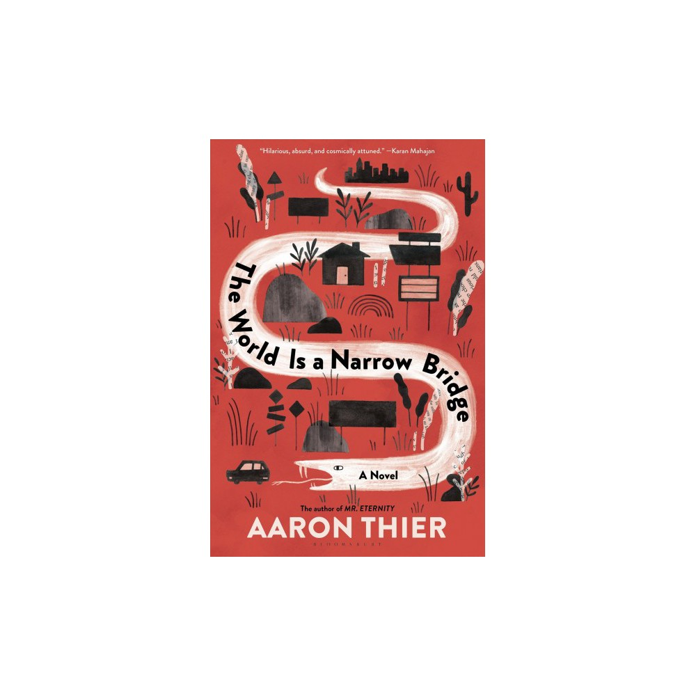 World Is a Narrow Bridge - by Aaron Thier (Hardcover)