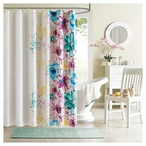 Shower Curtain - Blue - image 1 of 1