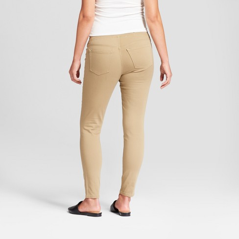 6723c49aad279 Maternity Crossover Panel Skinny Jeans - Isabel Maternity By Ingrid & Isabel™  Tan : Target