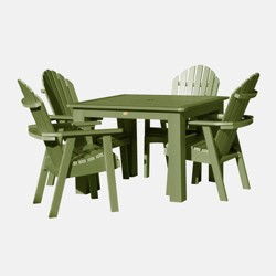 5pc Hamilton Square Patio Dining Set Dried Sage - highwood