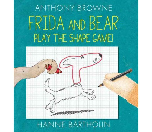 Frida and Bear Play the Shape Game! (School And Library) (Anthony Browne) - image 1 of 1