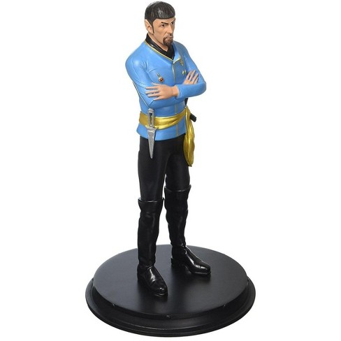 """Icon Heroes Star Trek Mirror Spock 8"""" Statue Paperweight - image 1 of 4"""