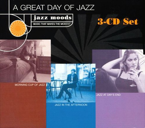 Various - Jazz moods:A great day of jazz (CD) - image 1 of 1
