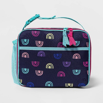 Kids' Lunch Tote Navy Rainbow - Cat & Jack™