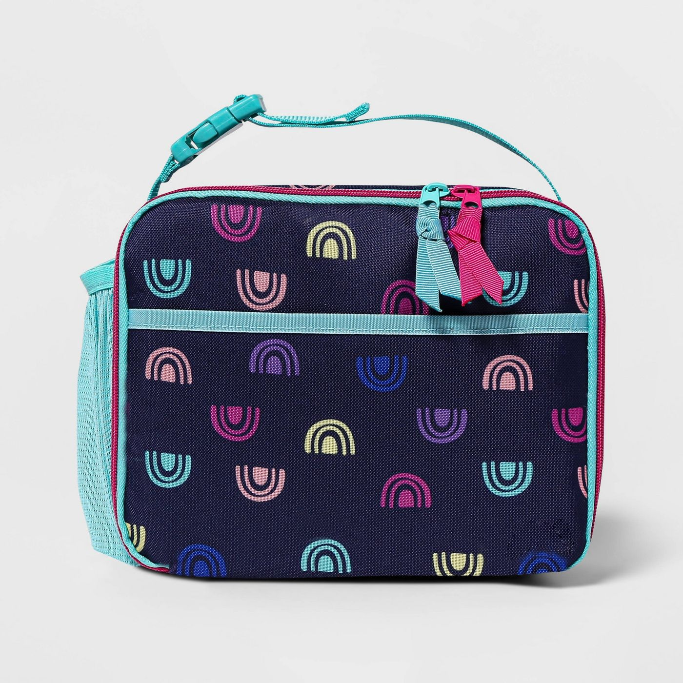 Kids' Lunch Tote Navy Rainbow - Cat & Jack™ - image 1 of 3