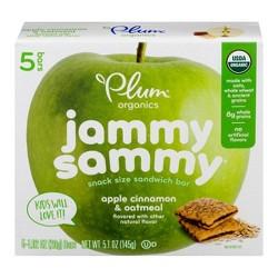 Plum Organics Jammy Sammy Apple Cinnamon & Oatmeal - 5pk/5.1oz