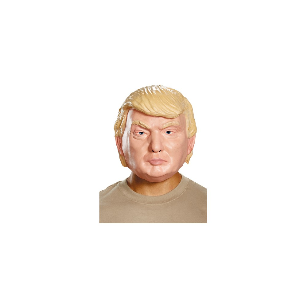 Donald Trump Vacuform 1/2 Mask, Adult Unisex, Multi-Colored