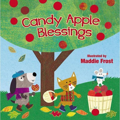 Candy Apple Blessings - (Sweet Blessings) by  Thomas Nelson (Board_book) - image 1 of 1